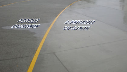 Permeable vs Impermeable Paving